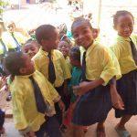 C'est toujours un plaisir pour les enfants de se poser pour prendre en photo!!