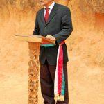Et pour terminer, le Maire de la commune rurale d'Ambohimanambola